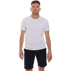 textil Herre T-shirts m. korte ærmer Sseinse ME1566SS hvid