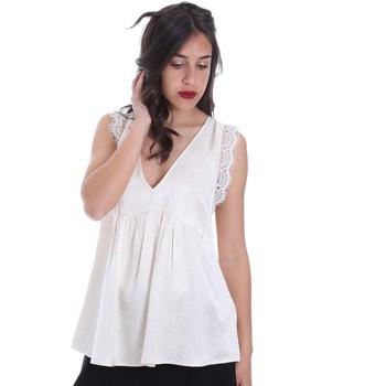 textil Dame Toppe / Bluser Gaudi 011FD45026 Beige