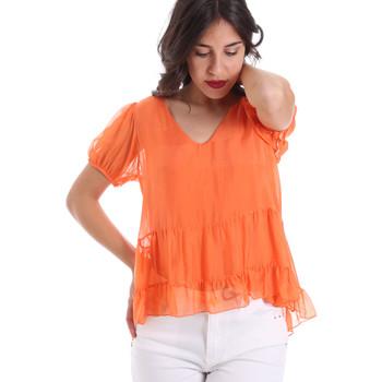 textil Dame Toppe / Bluser Gaudi 011BD45034 Orange