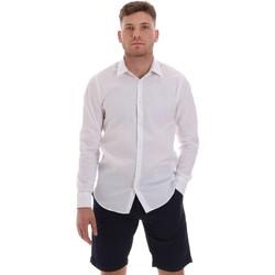 textil Herre Skjorter m. lange ærmer Sseinse CE506SS hvid