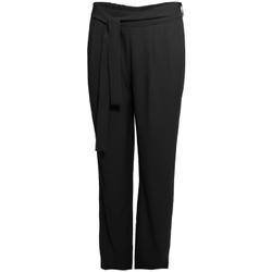 textil Dame Løstsiddende bukser / Haremsbukser Smash S1829415 Sort