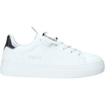 Sko Dame Lave sneakers Onyx S20-SOX701 Sølv