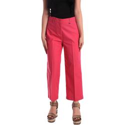 textil Dame Chinos / Gulerodsbukser Pepe jeans PL211023 Lyserød