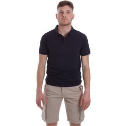 textil Herre Polo-t-shirts m. korte ærmer Sseinse ME1517SS Blå
