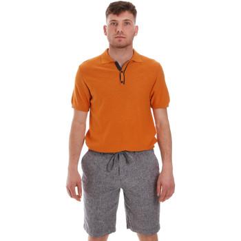 textil Herre Polo-t-shirts m. korte ærmer Sseinse ME1528SS Orange