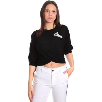 textil Dame Toppe / Bluser Denny Rose 811DD50011 Sort