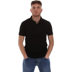 textil Herre Polo-t-shirts m. korte ærmer Sseinse ME1517SS Sort