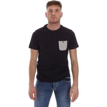 textil Herre T-shirts m. korte ærmer Sseinse ME1588SS Blå