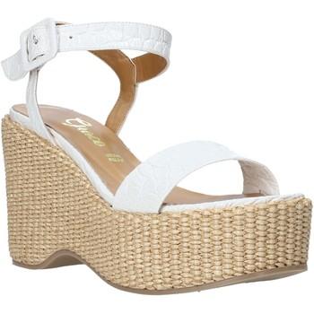 Sko Dame Sandaler Grace Shoes 104002 hvid