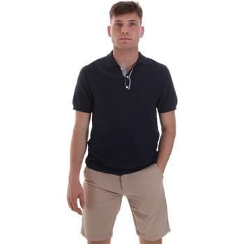 textil Herre Polo-t-shirts m. korte ærmer Sseinse ME1528SS Blå