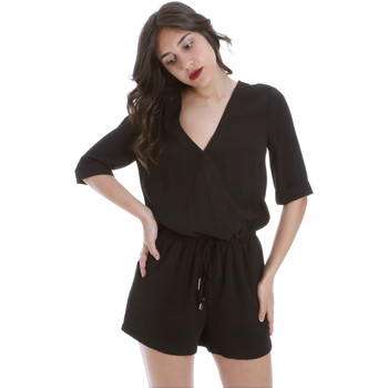 textil Dame Buksedragter / Overalls Gaudi 011BD25029 Sort