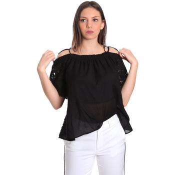 textil Dame Toppe / Bluser Gaudi 811FD45011 Sort