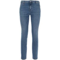 textil Dame Smalle jeans Nero Giardini P860221D Blå