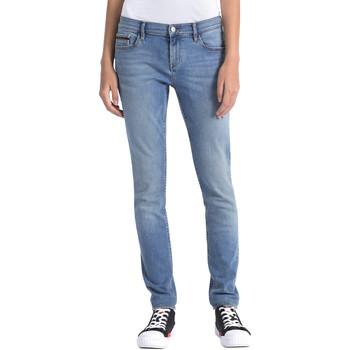 textil Dame Jeans Calvin Klein Jeans J20J206356 Blå