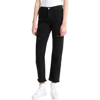 textil Dame Jeans - boyfriend Calvin Klein Jeans J20J207108 Sort