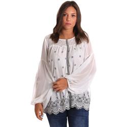 textil Dame Toppe / Bluser Smash S1887419 hvid