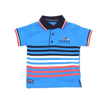 textil Børn Polo-t-shirts m. korte ærmer Losan 015-1037AL Blå