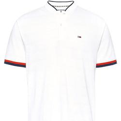 textil Herre Polo-t-shirts m. korte ærmer Tommy Jeans DM0DM07780 hvid