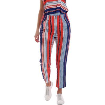 textil Dame Chinos / Gulerodsbukser Gaudi 73BD25211 Blå