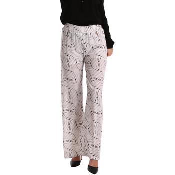 textil Dame Løstsiddende bukser / Haremsbukser Gaudi 73BD25224 hvid