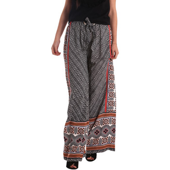 textil Dame Løstsiddende bukser / Haremsbukser Gaudi 73FD25200 Sort