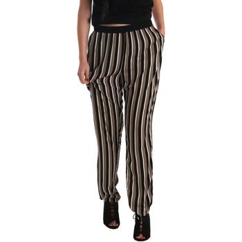 textil Dame Løstsiddende bukser / Haremsbukser Gaudi 73FD25202 Sort