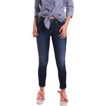 textil Dame Jeans - skinny Fornarina BE171L48D867VR Blå