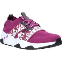 Sko Dame Lave sneakers Napapijri NA4ET7 Violet