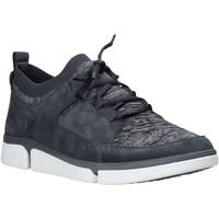 Sko Herre Lave sneakers Clarks 26142075 Blå