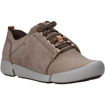 Sko Dame Lave sneakers Clarks 26128216 Grå
