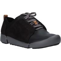 Sko Dame Lave sneakers Clarks 26128213 Sort