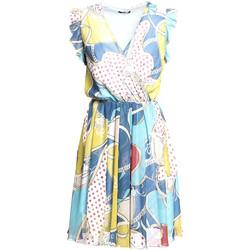 textil Dame Korte kjoler Fracomina FR20SM562 Blå