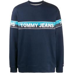textil Herre Sweatshirts Tommy Jeans DM0DM07894 Blå