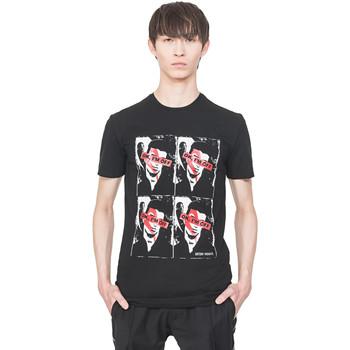 textil Herre T-shirts m. korte ærmer Antony Morato MMKS01743 FA120001 Sort