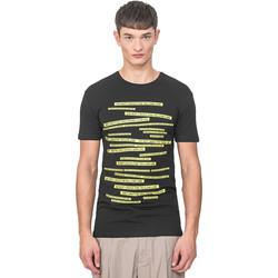 textil Herre T-shirts m. korte ærmer Antony Morato MMKS01749 FA120001 Sort
