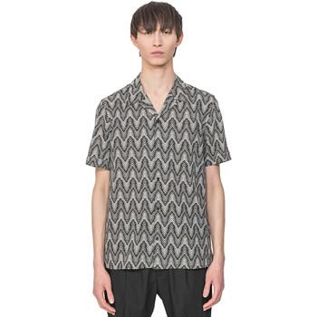 textil Herre Skjorter m. korte ærmer Antony Morato MMSS00156 FA430413 Beige