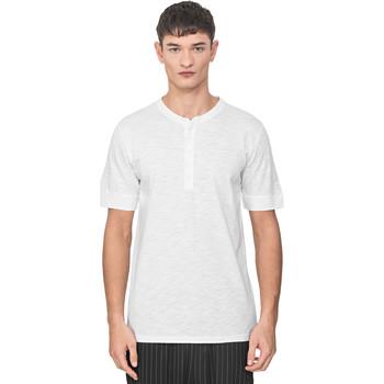 textil Herre T-shirts m. korte ærmer Antony Morato MMKS01725 FA100139 hvid