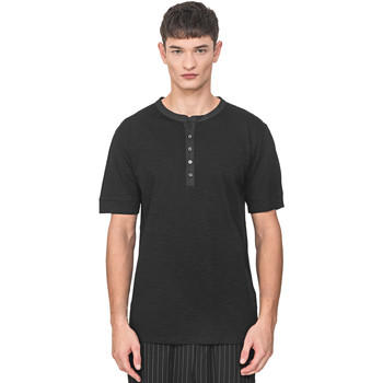 textil Herre T-shirts m. korte ærmer Antony Morato MMKS01725 FA100139 Sort