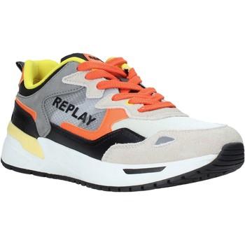 Sko Herre Lave sneakers Replay GMS2L 240 C0001T Orange