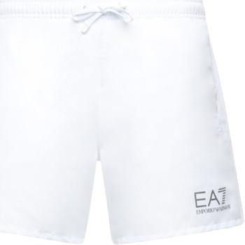 textil Herre Badebukser / Badeshorts Ea7 Emporio Armani 902000 CC721 hvid