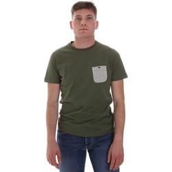textil Herre T-shirts m. korte ærmer Sseinse ME1588SS Grøn