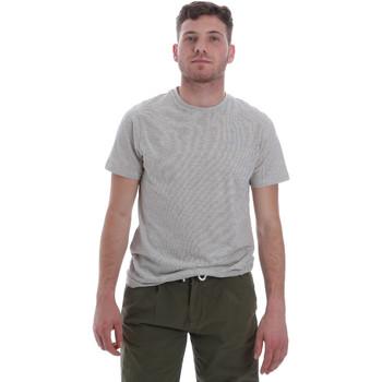 textil Herre T-shirts m. korte ærmer Sseinse ME1603SS hvid