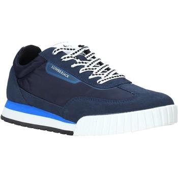 Sko Herre Lave sneakers Lumberjack SM81612 002 X22 Blå