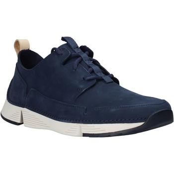 Sko Herre Lave sneakers Clarks 26145025 Blå