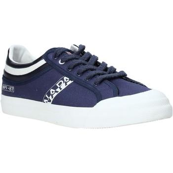 Sko Herre Lave sneakers Napapijri NA4ERO Blå