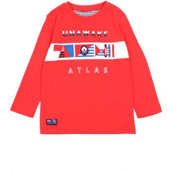 textil Pige Langærmede T-shirts Losan 015-1002AL Rød