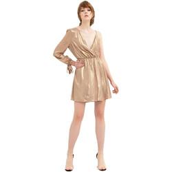 textil Dame Korte kjoler Fracomina FR20SP453 Guld