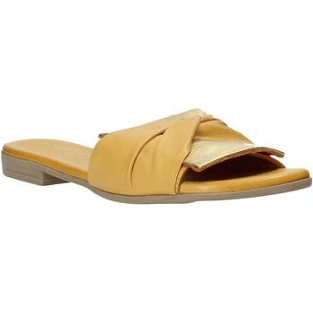 Sko Dame Tøfler Bueno Shoes 9L2735 Gul