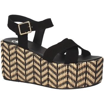 Sko Dame Sandaler Exé Shoes G41007047004 Sort