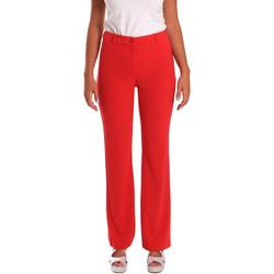 textil Dame Chinos / Gulerodsbukser Gaudi 811FD25013 Rød